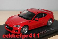 1/43 2012 SUBARU BRZ COUPE IN LIGHTNING RED BY EBBRO RARE JDM DIECAST MODEL CAR