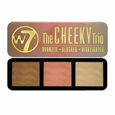 W7 Cheeky Trio Kit Set in tin Bonzer / Blusher/ / Highlighter 21 g