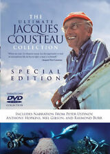 The Ultimate Jacques Cousteau Collection 21 DVD Deep Sea Marine Scuba Diving New