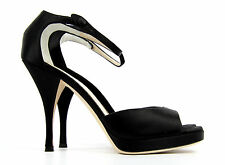 YVES SAINT LAURENT YSL SANDALS ANKLESTRA SHOES EU 39, US 9, UK 6, NEW, RRP £445