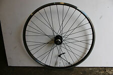 "27.5"" 650B REAR DISC BRAKE MTB BIKE WHEEL DOUBLE WALL RIM BLACK 5 6 7 Speed"