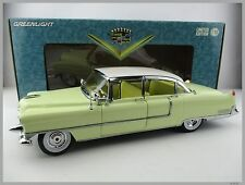 Cadillac FLEETWOOD * 1955 * in gelb-weiss * Greenlight* Maßstab 1:18 * OVP * NEU
