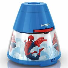 SPIDER-MAN LED NIGHT LIGHT & PROJECTOR NEW SPIDERMAN PHILIPS LIGHTING