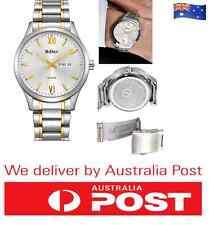 NEW Luxury Gold Day & Date Analog Business Waterproof Men Wrist Watch Calendar