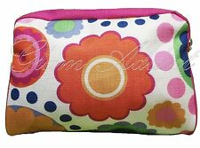 CLINIQUE Floral Groovy Travel Makeup Cosmetic Makeup Bag