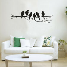 Birds Tree Branch Mural Removable Art Decal Vinyl Wall Sticker DIY Home Decor BL