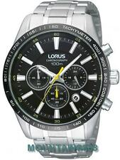 RT381BX-9, LORUS Watch, Chronograph, 12/24Hrs, Stainless Steel, WR100, Mens