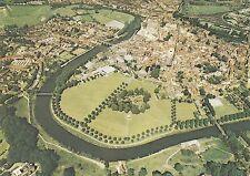 (94140) Postcard Shrewsbury Aerial View