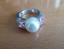 BEAUTIFUL SECONDHAND STERLING SILVER THOMAS SABO  RING SIZE M