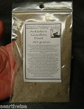 GOOFER'S DUST Wicca Witch Pagan Spell Goth SPRINKLE ON ENEMIES PATH FOR BAD LUCK
