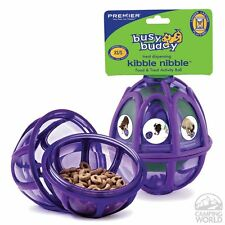 Busy Buddy Durable Activity Treat Dispensing Ball Dog Toy - Kibble Nibble Small