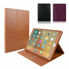 """Folio Real Genuine Leather Case Smart Cover Stand For Apple iPad Pro 12.9"""""""