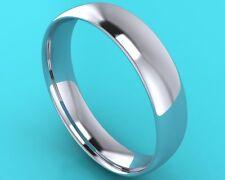 5mm PLATINUM 950 GENTS BESPOKE HANDMADE WEDDING BAND RING RRP £899.00