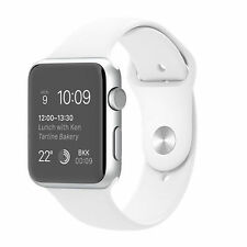 Apple Watch Sport 42mm Silver Aluminum Case White Sport Band (MJ3N2B/A)