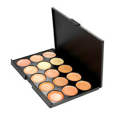 15 Colors Concealer Palette kit Face Makeup Contour Cream Brush Professional TS