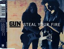 GUN : STEAL YOUR FIRE / 4 TRACK-CD (A&M RECORDS 1992)