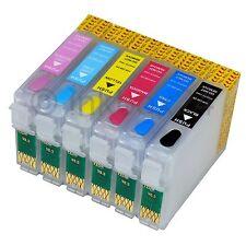 Refill Set CISS für Epson Photo 1400 1500 W + 600ml Nachfülltinte kein OEM T0797