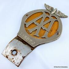 Large 1918 WW1 Car Badge - The AA Automobile Association - #135072 Grille Mascot