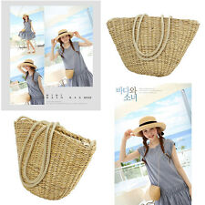 Summer New Women beach Straw Shoulder bag Girl Body Mini Straw Bag Mini Handbags