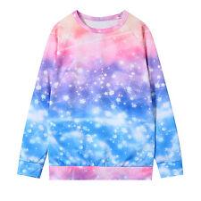 Harajuku Galaxy Print Sweatshirt Hoodie Long Sleeve Spring Autumn Fashion Casual