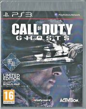 Playstation 3 Call of Duty Ghosts Free Fall Limited Edition BRAND NEW
