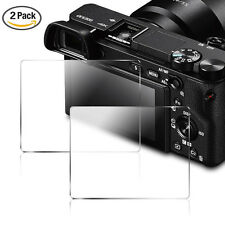 2X Tempered Glass Screen Protector Film For Sony Alpha A6000 A6300 A5000 DSLR
