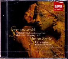 Thomas ZEHETMAIR & Simon RATTLE: SZYMANOWSKI Violin Concerto 1 2 Symphony 4 CD