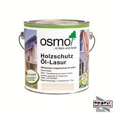 (26,38€/L) Osmo Holzschutz Öl Lasur 2,5 L 900 Weiß + Rührholz