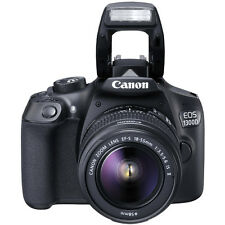 Canon EOS 1300D Digital SLR Camera with EF-S 18-55mm IS II Lens New ggx