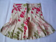 Firetrap multicoloured  red green off white skirt UK 10 Free Postage