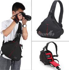 DSLR SLR Digital Camera Lens Protective Sling Shoulder Bag for Canon Nikon Sony