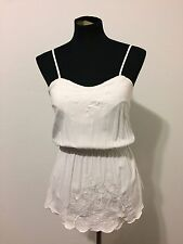 Rusty Ivory Embroidered 'Nature Top', Size 10