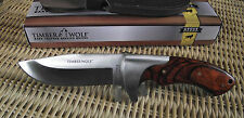 CLASSIC BOWIE HUNTING KNIFE - GERMAN STAINLESS STEEL -W/LEATHER SHEATH- NEW!
