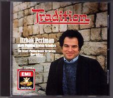 Itzhak PERLMAN TRADITION Popular Jewish Melodies Yiddishe Mamme Reyzele Doyna CD