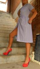 VINTAGE Rockabilly 1950's Original Couture Pin Up Retro Dress