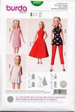 "BURDA SEWING PATTERN 6960 11½""-12¼"" BARBIE/FASHION DOLL CLOTHES: DRESSES, PANTS"