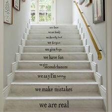 """House Rules"""" Quote Words Mural Removable Wall Sticker Art Vinyl Decal Home Decor"""