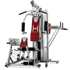 BH Fitness Global Home Multi Gym Machine with Leg Press and Dip Station