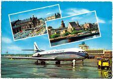 "AK, Frankfurt am Main, Flughafen ""Rhein-Main"", drei Abb., 1965"
