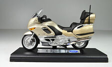 BMW K 1200 LT Colour champagne Scale 1:18 Motorcycle model by Welly