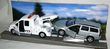 NEW TEAMSTERS CITY RECOVERY TOW TRUCK & SILVER CAR DIECAST TOY MODEL BOXED
