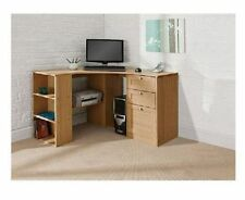 Large Corner Desk Executive Home Office Space Saving Computer PC Table Storage