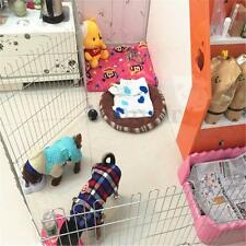 Folding Pet Playpen Fence Cage For Puppy Rabbit Hamster Mouse Guinea Pig Gerbil