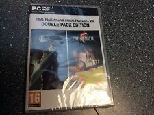 Final Fantasy VII And VIII 7 And 8 PC New Sealed