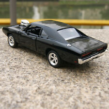 DODGE CHARGER 1970 MUSCLE 1:32 Alloy Diecast Car Model THE FAST & FURIOUS  Black