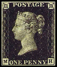 1840 GB ONE PENNY BLACK; TWO PENCE BLUE & ONE PENNY RED USED(AS IS)