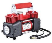 NEW SKATCO 12V AIR COMPRESSOR 2 CYLINDER 85L 150PSI CAR VAN TYRE INFLATOR +LIGHT