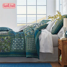 The Company Store Style  Patchwork Bedspread Quilt 3pc Set King + Ling's Gift