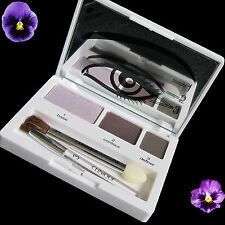 Clinique Color Surge Eye Shadow Trio Blackberry Frost Come Heather Slate New