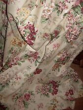 """Dorma Summer Scents unlined curtains+66"""" wide x 53"""" drop+Great condition."""
